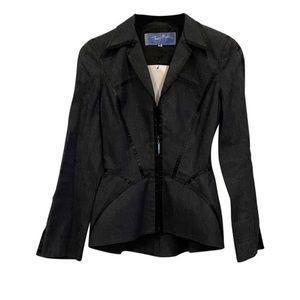 Thierry Mugler Dark Denim Suit